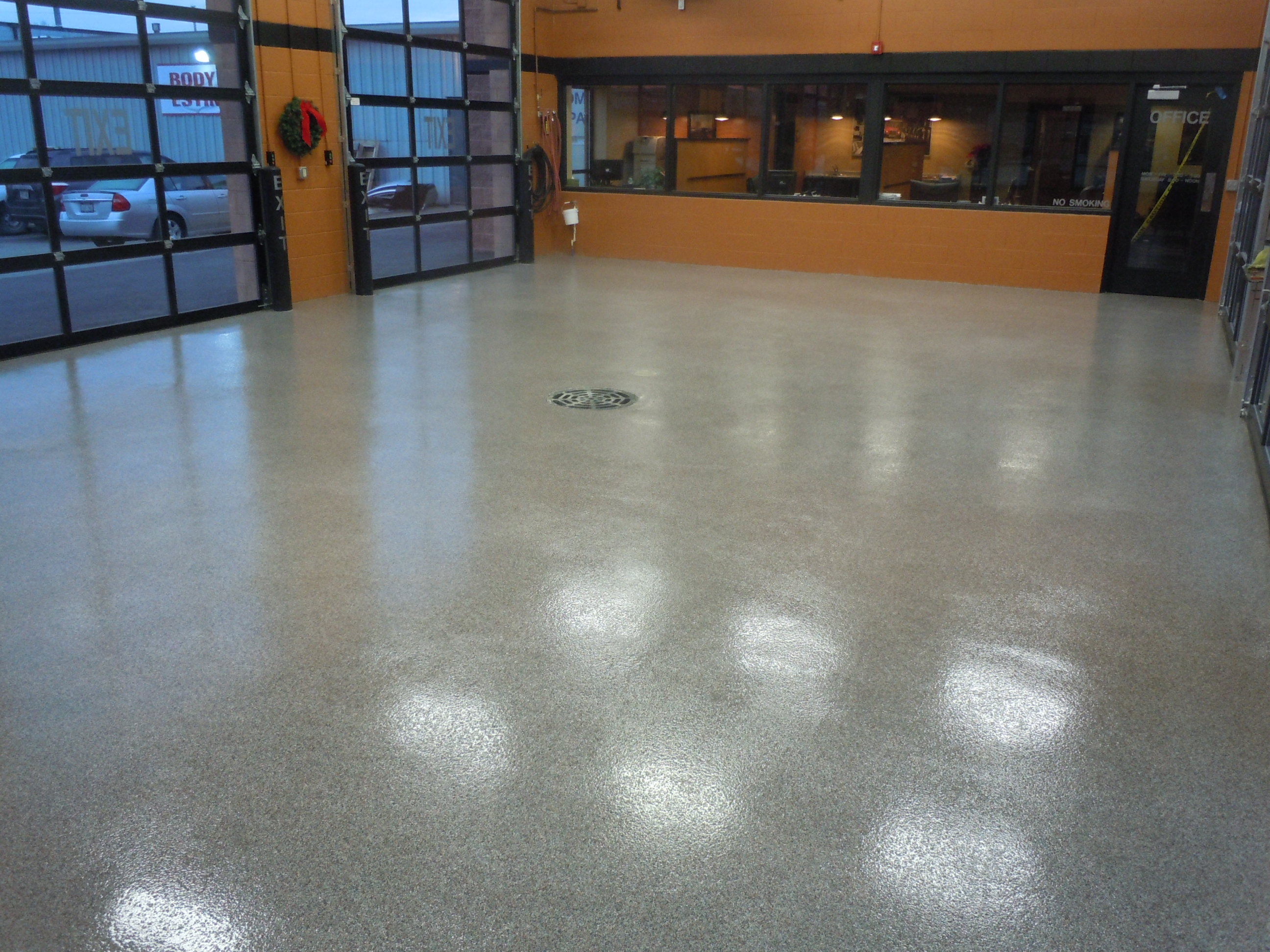 Vinyl Flake Epoxy Flooring