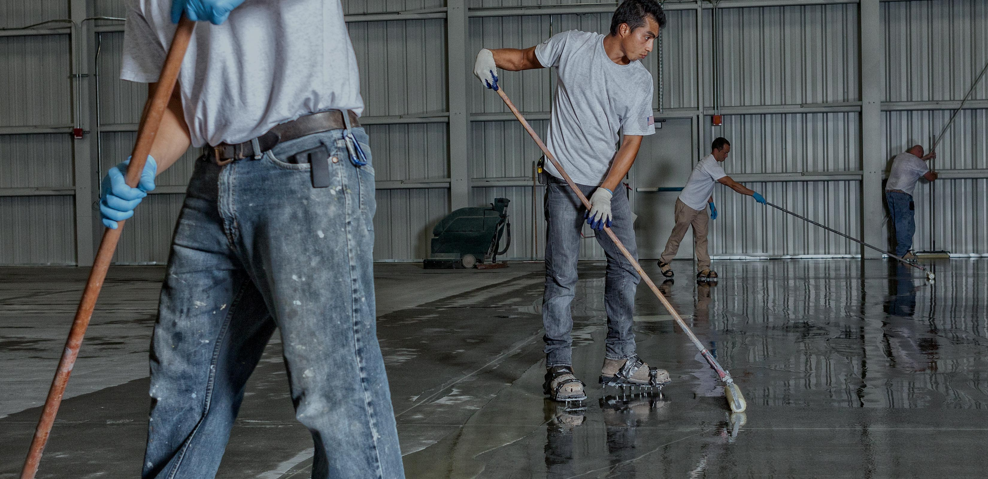 Best concrete coating company CMS Employees